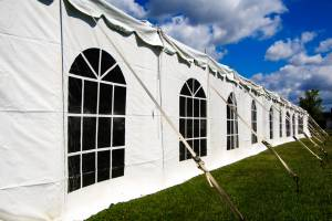 tent-side